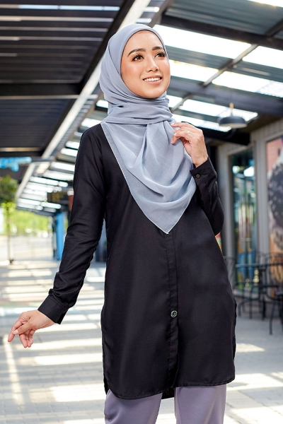 Aileen Blouse - Exclusive Black